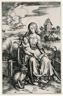 Albrecht Dürer, La Madonna della scimmia, 1498 ca, collezione privata © Mario Parodi