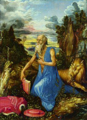 Albrecht Dürer, San Girolamo, ante 1496, Londra, National Gallery. © 2018 Copyright The National Gallery, London/Scala, Firenze