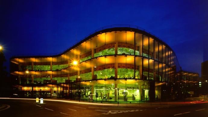 Foster + Partners, 1975 - Willis, Faber & Dumas, Headquarter, Ipswich, England. Photo credit: Foster + Partners