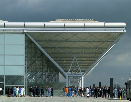 Foster + Partners, 1994 - Stansted Airport, United Kingdom. Photo credit: Foster + Partners