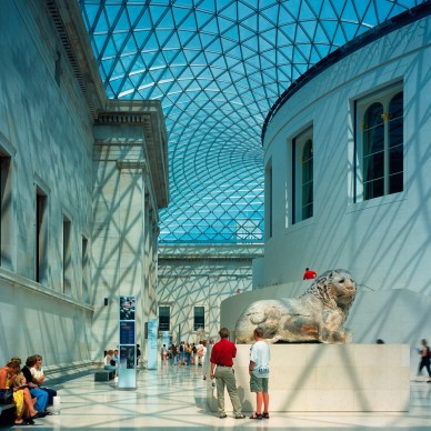 Foster + Partners, 2000 - British Museum, London, England. Photo credit: Foster + Partners