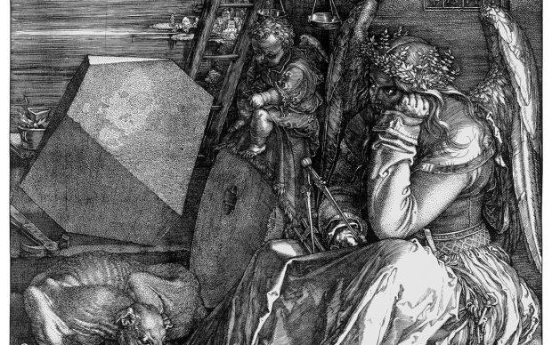 Albrecht Dürer, La Melancolia (Melencolia I), 1514 Tecnica: incisione a bulino. Londra, National Gallery - Courtesy Otto Schafer Stiftung der Stadt Schweinfurt