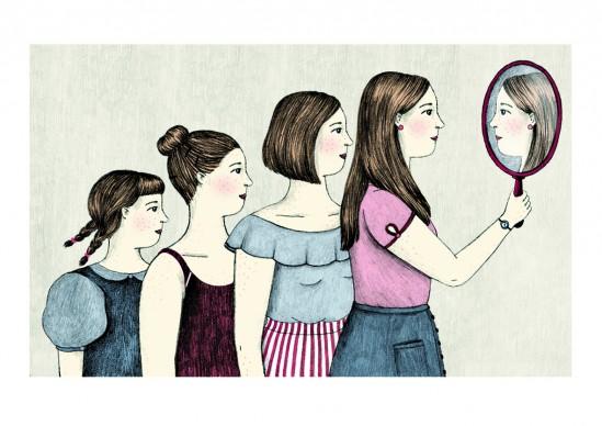 Alessandra De Cristofaro, Grow Up  - I colori del sacro. IL CORPO. Nona rassegna internazionale di illustrazione, 2018