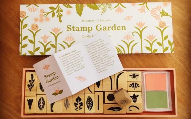 Coralee Bickford-Smith Stamp Garden