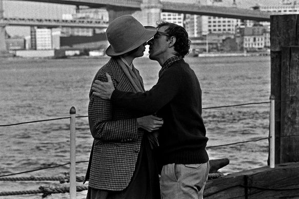 Diane Keaton e Woody Allen in Annie Hall (Io e Annie) © Brian Hamill