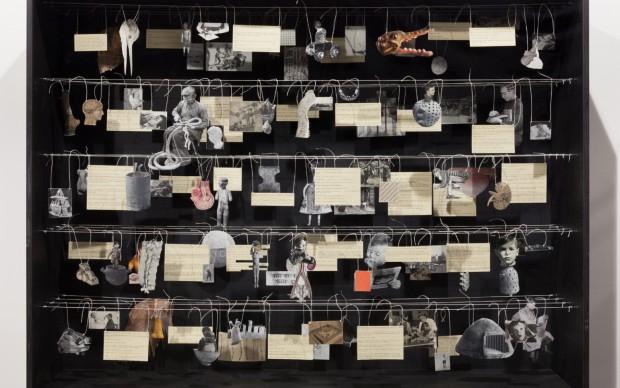 Eva Kot'átková, Atlas of Johan, a boy who cut a library of the clinic into pieces, 2014 Courtesy dell'artista e Meyer Riegger, Berlino/Karlsruhe