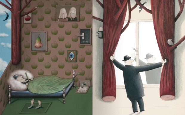 La mela di Magritte klaas verplancke