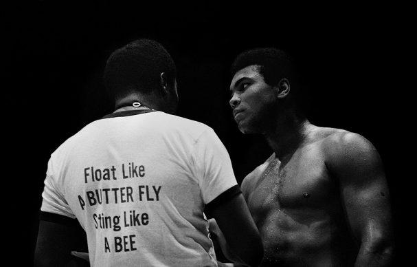 Muhammad Ali, Madison Square Garden, 1972 © Brian Hamill
