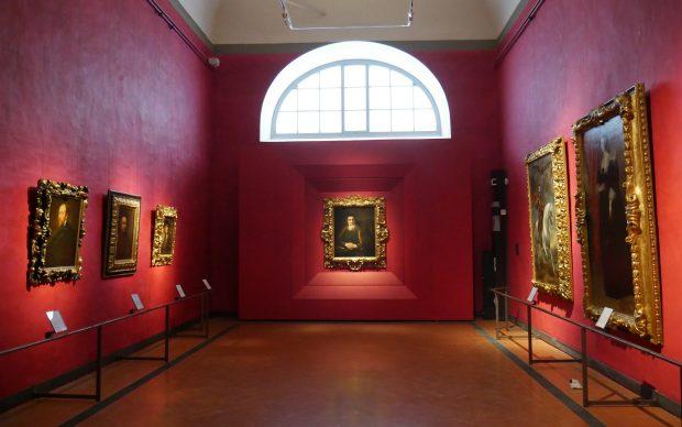 Gallerie degli Uffizi, allestimento sale Caravaggio e pittori del Seicento