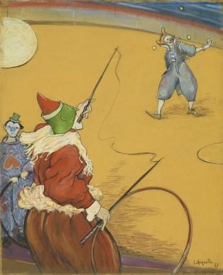 Louis Anquetin, Au cirque,1887, Collection particulière, photo Maurice Aeschimann