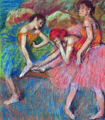 Edgar Degas, Danseuses (Danseuses aur epos), 1898 circa, Fondation de l'Hermitage, Lausanne, legs Lucie Schmidheiny, photo Giorgio Skory, Romanel-sur-Lausanne