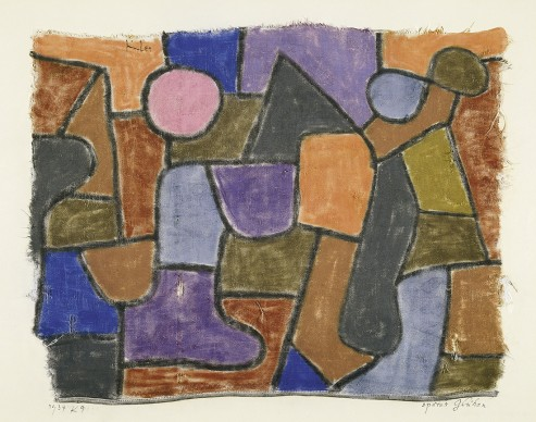 Paul Klee, Spätes Glühen, 1934, 29, Zentrum Paul Klee, Berne, donation Livia Klee, photo Zentrum Paul Klee, Berne, Bildarchiv