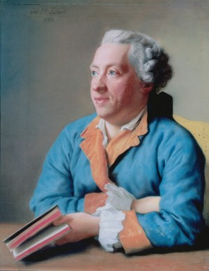Jean Etienne Liotard, Charles-Simon Favart, 1757, Collection privée