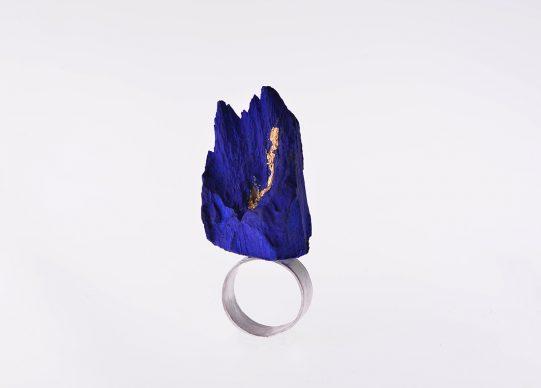 Artistar Jewels 2018: Patricia Alvarez Joyas, anello Blue Mountain
