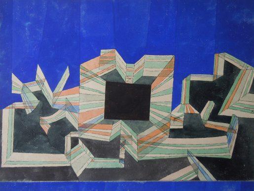 Paul Klee, Das tor der nacht, 1921. Privatbesitz © Zentrum Paul Klee, Bern, Bildarchiv