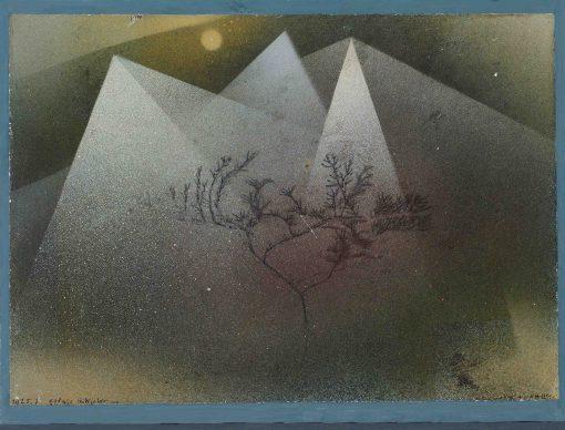 Paul  Klee, Gebirge im Winter, 1925. Hermann und Margrit Rupf-Stiftung, Kunstmuseum Bern © Kunstmuseum Bern
