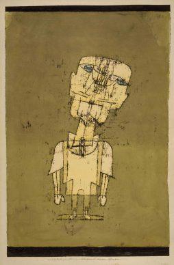 Paul Klee, Gespenst eines genies, 1922. National Gallery of Modern Art, Edinburgh © National Galleries of Scotland