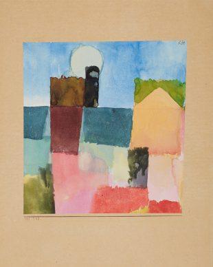 Paul Klee, Mondaufgang (St. Germain). 1915, Museum Folkwang, Essen © Museum Folkwang Essen - ARTOTHEK