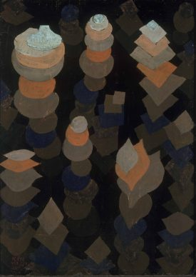 Paul Klee, Wachstum der nachtpflanzen, 1922. Miterbengemeinschaft, München © Bayerische Staatsgemäldesammlungen, Foto: Sibylle Forster