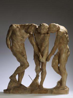 Auguste Rodin, Le tre ombre, 1897. Parigi, Musée Rodin © Musee Rodin, foto Christian Baraja