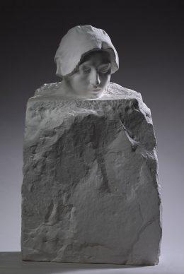 Auguste Rodin, Il pensiero, 1893-1895. Parigi, Musée Rodin © Musee Rodin, foto Christian Baraja