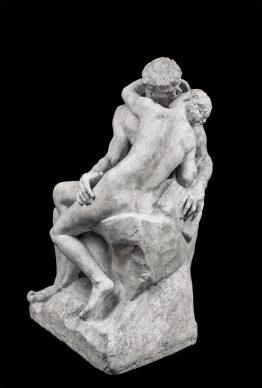 Auguste Rodin, Il bacio, 1885 circa. Parigi, Musée Rodin. © Musee Rodin, foto Jérome Manoukian