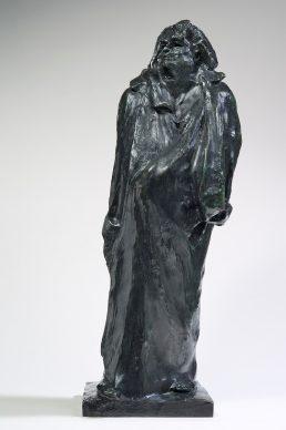 Auguste Rodin, Balzac, studio finale, 1897. Parigi, Musée Rodin © Musee Rodin, foto Christian Baraja