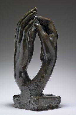 Auguste Rodin, La Cattedrale, 1908. Parigi, Musée Rodin © Musee Rodin, foto Christian Baraja