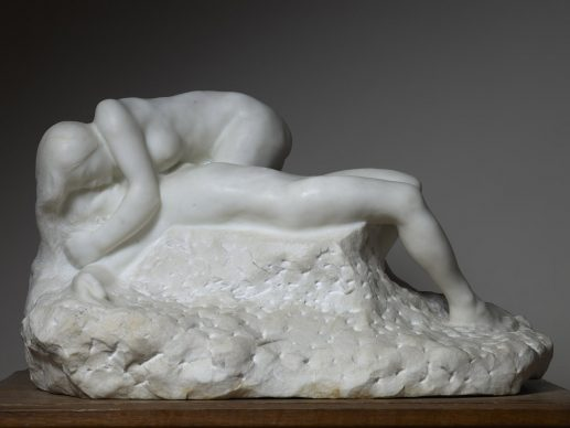 Auguste Rodin, Paolo e Francesca tra le nuvole, 1904-1905. Parigi, Musée Rodin. © Musee Rodin, foto Christian Baraja