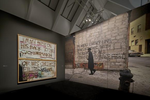 BASQUIAT. BOOM FOR REAL, exhibition view © Schirn Kunsthalle Frankfurt, 2018. Photo: Norbert Miguletz. Artworks: © VG Bild-Kunst Bonn, 2018 & The Estate of Jean-Michel Basquiat, Licensed by Artestar, New York