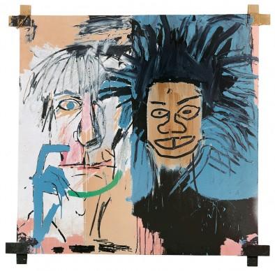 Jean-Michel Basquiat, Dos Cabezas, 1982. Private collection © VG Bild-Kunst Bonn, 2018 & The Estate of Jean-Michel Basquiat. Licensed by Artestar, New York