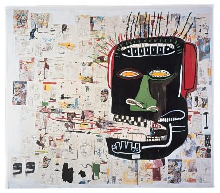 Jean-Michel Basquiat, Glenn, 1984. Private collection © VG Bild-Kunst Bonn, 2018 & The Estate of Jean-Michel Basquiat, Licensed by Artestar, New York