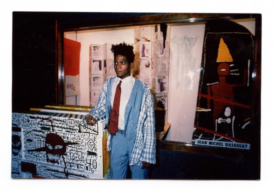 Jean-Michel Basquiat at Area, New York, 1984, Courtesy Jennifer Goode