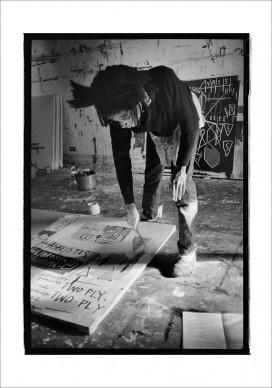 Jean-Michel Basquiat painting, 1983 © Roland Hagenberg