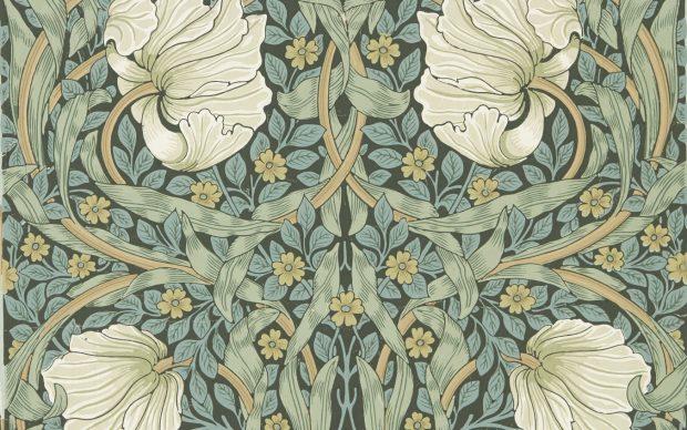 2 / 5 William Morris, Jeffrey & Co., Morris & Co. Pimpernell Wallpaper, c. 1876 © Morris & Co.
