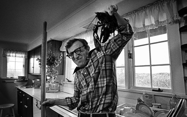 Woody Allen with Lobster, Annie Hall © Brian Hamill