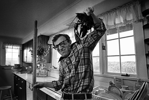 Woody Allen with Lobster in Annie Hall, #7 © Brian Hamill