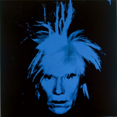Andy Warhol, Autoritratto. 1986. Collection of the Andy Warhol Museum, Pittsburgh © 2017 The Andy Warhol Foundation for the Visual Arts, Inc. / VEGAP