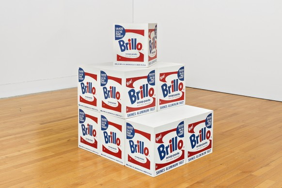 Andy Warhol, Brillo BOX. 964-68. Museo Coleção Berardo, Lisboa © 2017 The Andy Warhol Foundation for the Visual Arts, Inc. / VEGAP