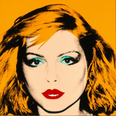 Andy Warhol, Debbie Harry, 1980. Collection of the Andy Warhol Museum, Pittsburgh © 2017 The Andy Warhol Foundation for the Visual Arts, Inc. / VEGAP