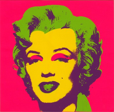 Andy Warhol, Marilyn Print. 1967. Collection of the Andy Warhol Museum, Pittsburgh © 2017, The Andy Warhol Foundation for the Visual Arts, Inc. / VEGAP
