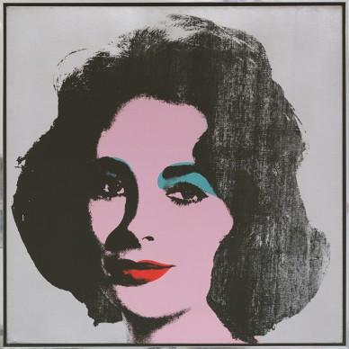 Andy Warhol, Silver Liz. 1963. Collezione Froelich, Leinfelden-Echterdingen, Alemania © 2017 The Andy Warhol Foundation for the Visual Arts, Inc. / VEGAP