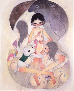 Aya Takano, Milk Of Tender Love, 2005