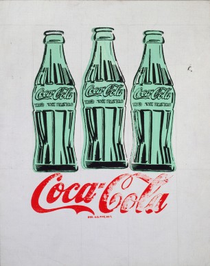 Andy Warhol, Tre bottiglie di Coca-Cola. 1962. Collection of the Andy Warhol Museum, Pittsburgh © 2017 The Andy Warhol Foundation for the Visual Arts, Inc. / VEGAP