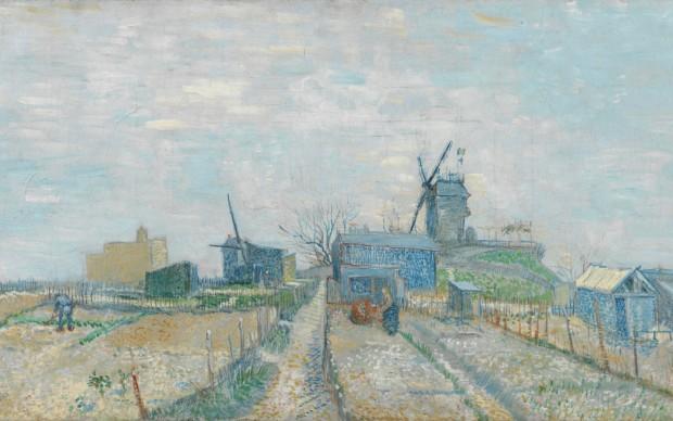 Vincent van Gogh, Les Moulins de Montmartre, 1887, Van Gogh Museum, Amsterdam