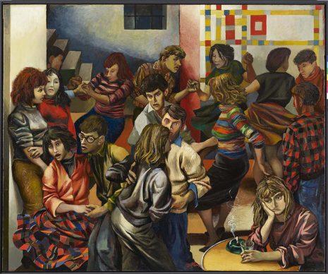 Renato Guttuso, Boogie-woogie, 1953. Olio su tela, Rovereto, Mart – Museo di arte moderna e contemporanea di Trento e Rovereto Collezione VAF - Stiftung