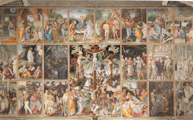 Gaudenzio Ferrari, Storie della vita di Gesù, Chisa di Santa Maria delle Grazie, Varallo