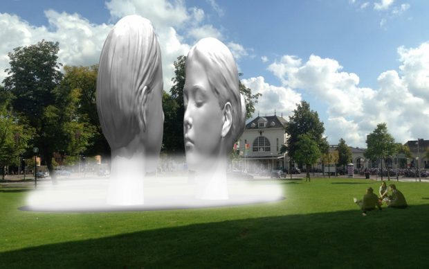 11 Fountains-Leeuwarden-Jaume-Plensa-Spain-©-11Fountains