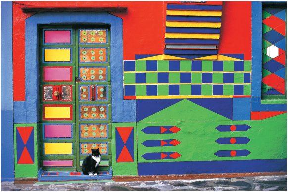 Fulvio Roiter, La casa di Bepi a Burano, 1997 © Fondazione Fulvio Roiter