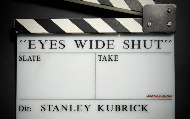 ciak eyes wide shut regia di stanley kubrick